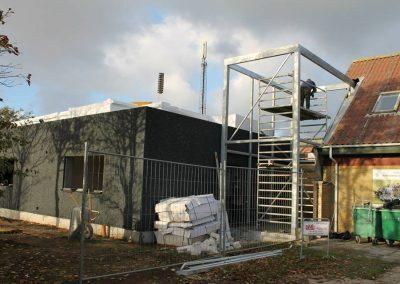RIF Stadion - renovering af omklædningsrum, vindfang, klubhus, sponsorlounge og terrasse