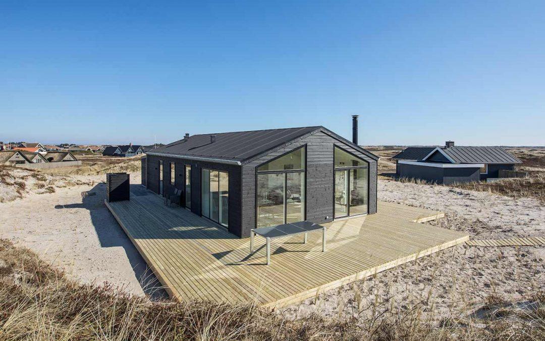 Nybygning af sommerhus i Bjerregård