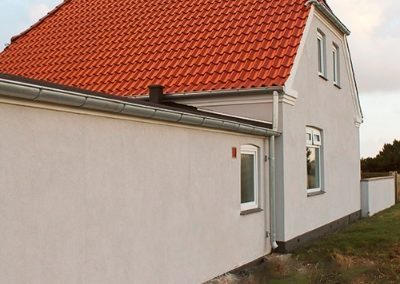 Parcelhus renovering på Holmsland Klitvej