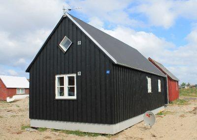 Nybygning af sommerhuse på Tyskerhavnen